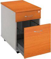 K 22 ZSC P kontajner 40x60x60 cm  s tužkovníkom,zásuvka pre zakladače,farba/farba,roky pozdĺž