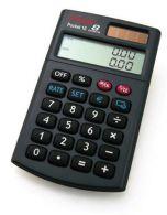Rebell Pocket 10 vrecková kalkulačka s dvojriadkovým displejom