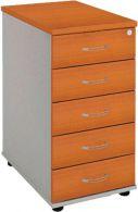 K 25 C P kontajner 40x75,5x80 cm centrálne uzamykanie,farba/farba, roky pozdĺž