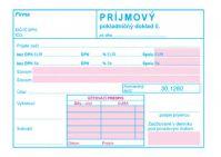 171 Príjmový pokladničný doklad s DPH-samoprepis