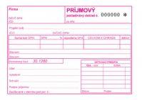 310 Príjmový pokladničný doklad číslovaný A6-samoprepis