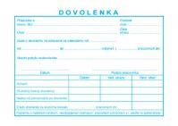 012 Dovolenka BLOK A6 /100 list.