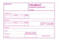 193 Príjmový pokladničný doklad bez DPH -100 listov