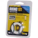 Rhino101/S0810330 vinyl. lamin. páska so štítkami 19x25mm/200 štítkov