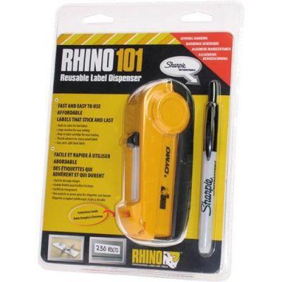 Rhino101/S0810250/ s nylon/flexibil páskou 19mmx3,5m/všeobec. označ.