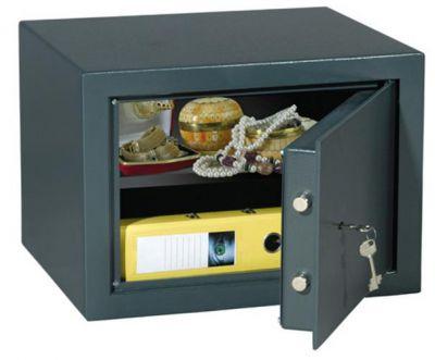 T03351 Clever B4 dvojplášťový nábytkový sejf antracid/ 33x45x38cm